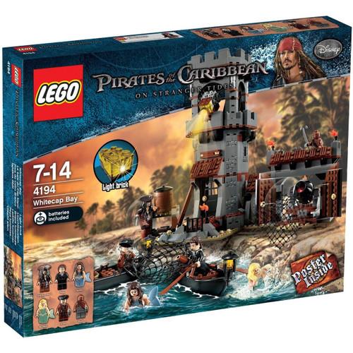 LEGO Pirates of the Caribbean Whitecap Bay Set #4194