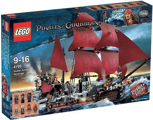 LEGO Pirates of the Caribbean Queen Anne's Revenge Set #4195