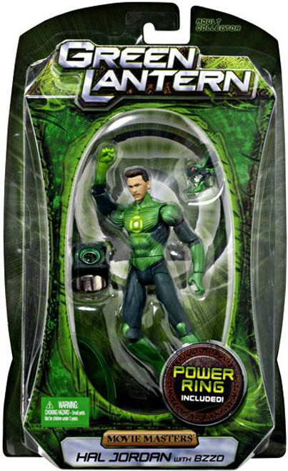 Green Lantern Movie Movie Masters Series 3 Hal Jordan Action Figure [With Bzzd]