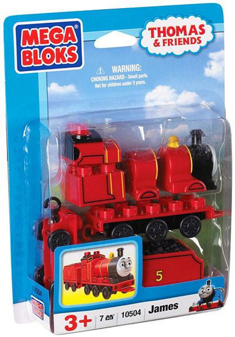 Mega Bloks Thomas & Friends James Set #10504