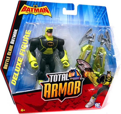 The Brave and the Bold Total Armor Battle Claw Batman Action Figure