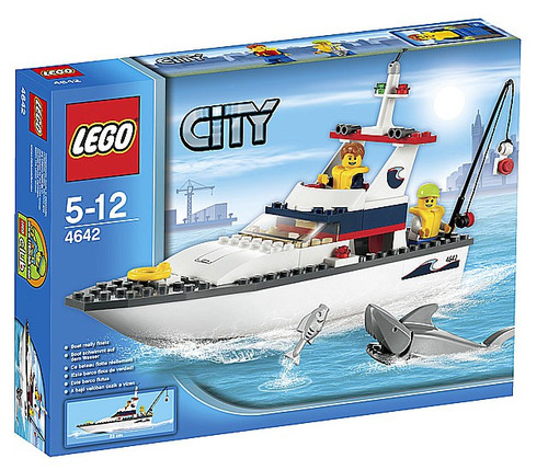 LEGO City Fishing Boat Set #4642