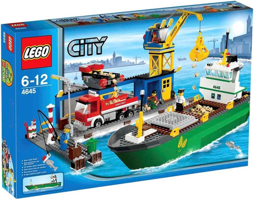 LEGO City Harbour Exclusive Set #4645