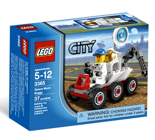 LEGO City Space Moon Buggy Set #3365
