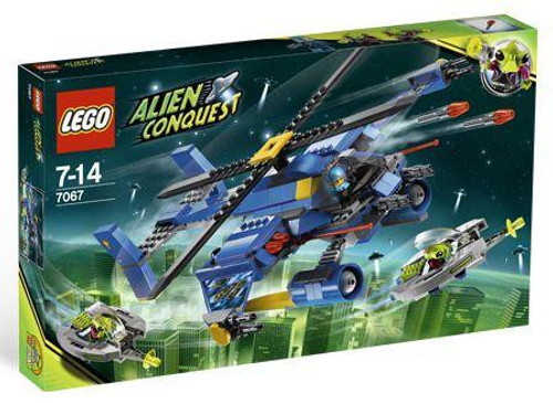 LEGO Alien Conquest Jet-Copter Encounter Set #7067