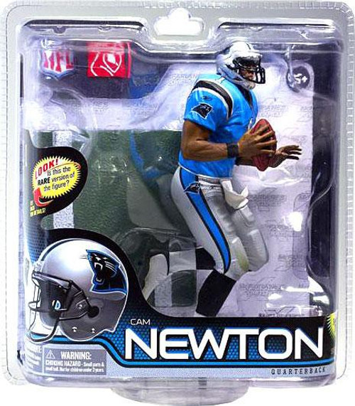 McFarlane Toys NFL Carolina Panthers Sports Picks Series 28 Cam Newton Action Figure [Blue Jersey]