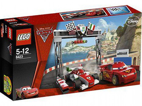 LEGO Disney Cars Cars 2 World Grand Prix Racing Rivalry Exclusive Set #8423