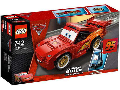 LEGO Disney Cars Cars 2 Ultimate Build Lightning McQueen Set #8484