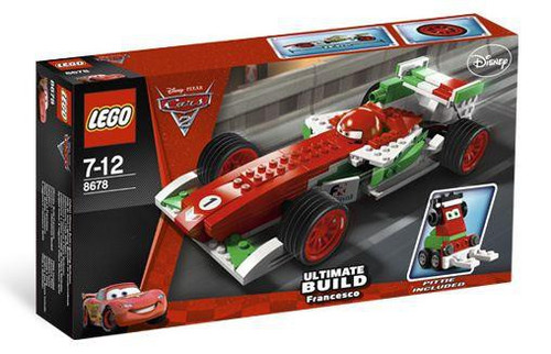LEGO Disney Cars Cars 2 Ultimate Build Francesco Exclusive Set #8678