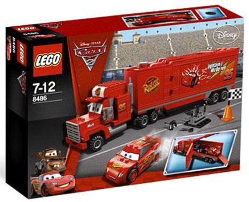 LEGO Disney Cars Cars 2 Mack's Team Truck Set #8486