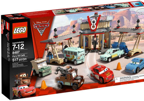 LEGO Disney Cars Cars 2 Flos V8 Cafe Set #8487