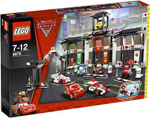 LEGO Disney Cars Cars 2 Tokyo International Circuit Exclusive Set #8679