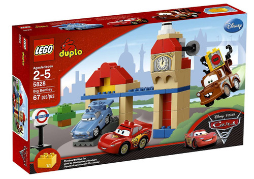 LEGO Disney Cars Duplo Cars 2 Big Bentley Set #5828
