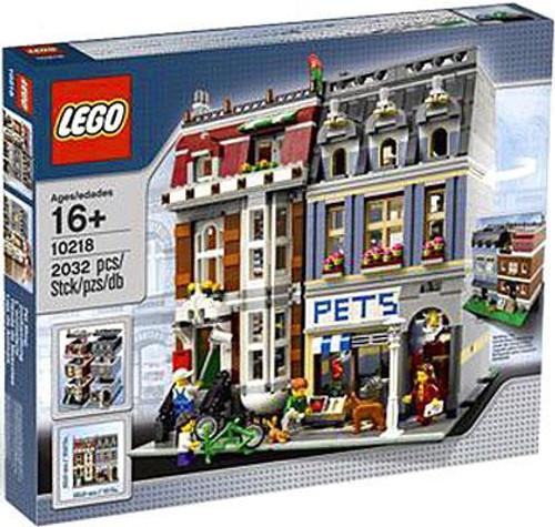 LEGO Exclusives Pet Shop Exclusive Set #10218