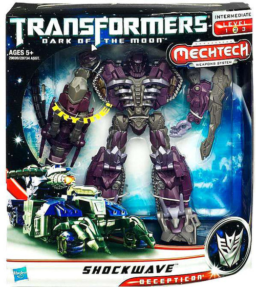 Transformers Dark of the Moon Mechtech Voyager Shockwave Voyager Action Figure