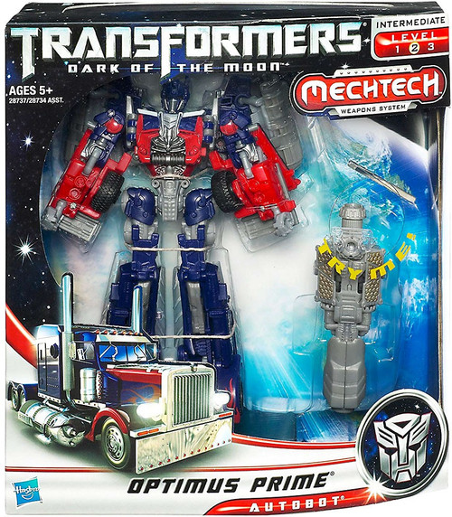 Transformers Dark of the Moon Mechtech Voyager Optimus Prime Voyager Action Figure