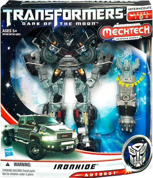 Transformers Dark of the Moon Mechtech Voyager Ironhide Voyager Action Figure