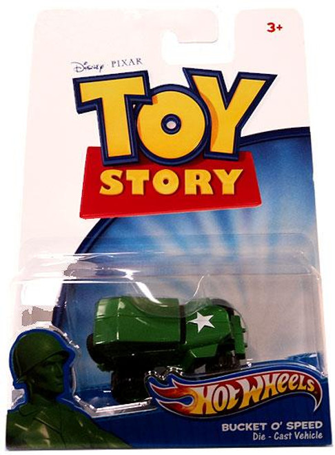 Toy Story Hot Wheels Bucket O' Speed Diecast Vehicle