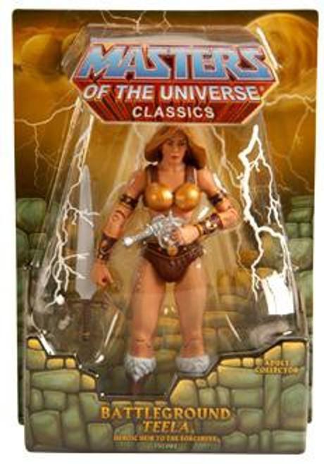 Masters of the Universe Classics Club Eternia Teela Exclusive Action Figure [Battleground]