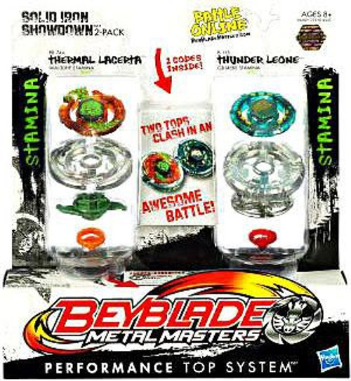 Beyblade Metal Masters Solid Iron Showdown 2-Pack BB74A