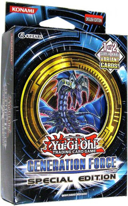 YuGiOh Generation Force Special Edition Pack [Sealed]
