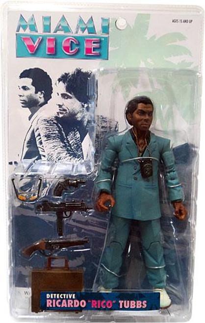 Miami Vice Rico Tubbs Action Figure [Blue Suit]