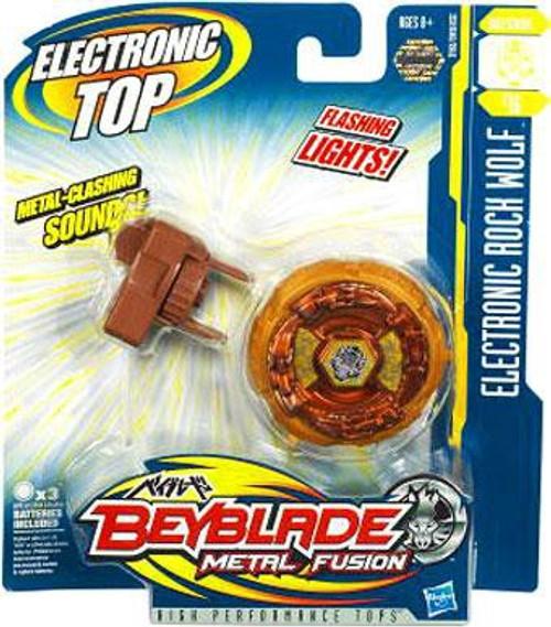 Beyblade Metal Fusion Electronic Rock Wolf B-16