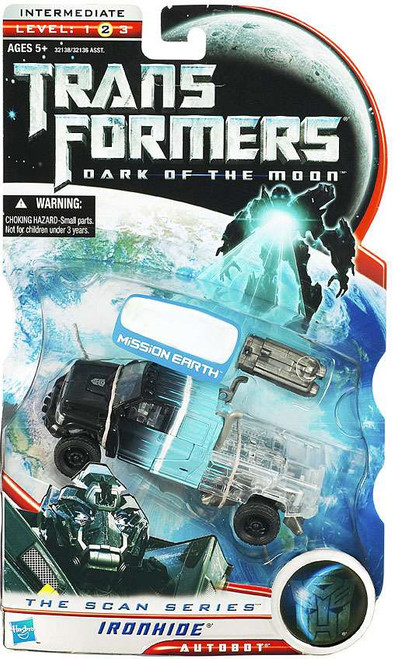Transformers Dark of the Moon The Scan Series Ironhide Exclusive Deluxe Action Figure