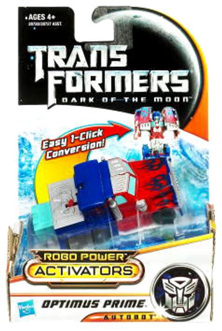 Transformers Dark of the Moon Robo Power Activators Optimus Prime Action Figure