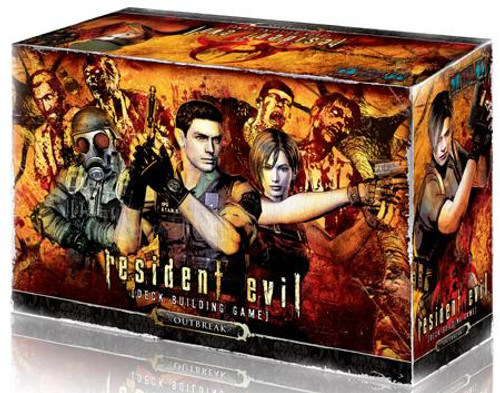 Outbreak Resident Evil Deck Building Game [Outbreak Expansion]