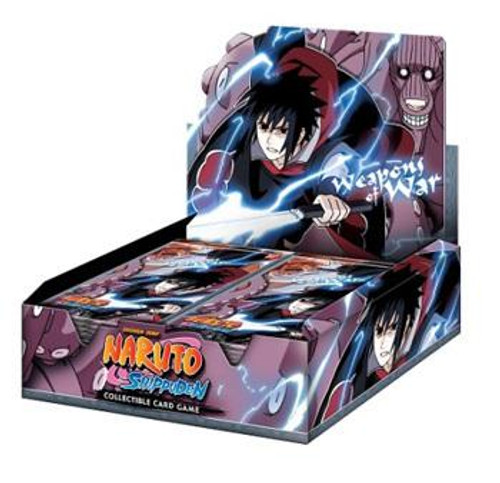 Naruto Shippuden Card Game Weapons of War Booster Box [24 Packs]