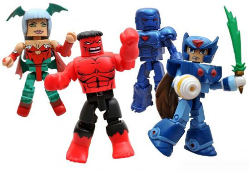 Minimates Marvel vs. Capcom 3 Exclusive Minifigure 4-Pack [Set #2]