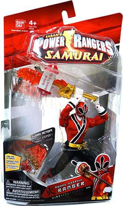 Power Rangers Samurai Sword Morphin Ranger Fire Action Figure