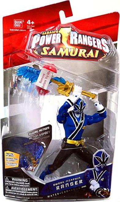 Power Rangers Samurai Sword Morphin Ranger Water Action Figure