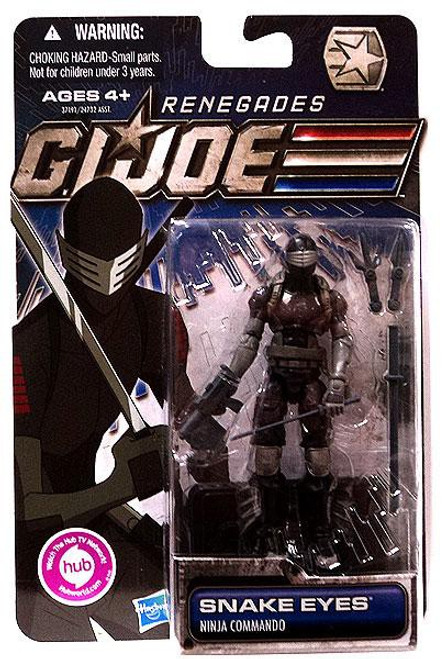 GI Joe 30th Anniversary Renegades Snake Eyes Action Figure