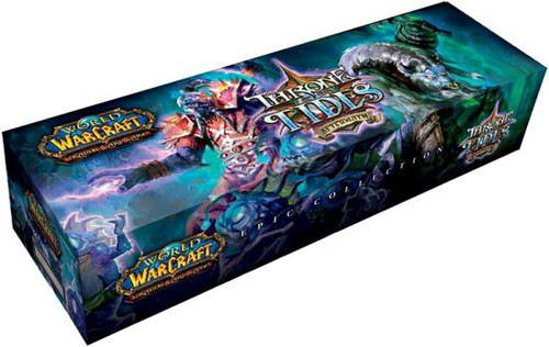 World of Warcraft Trading Card Game Throne of the Tides Epic Collection