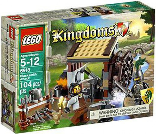 LEGO Kingdoms Blacksmith Attack Set #6918