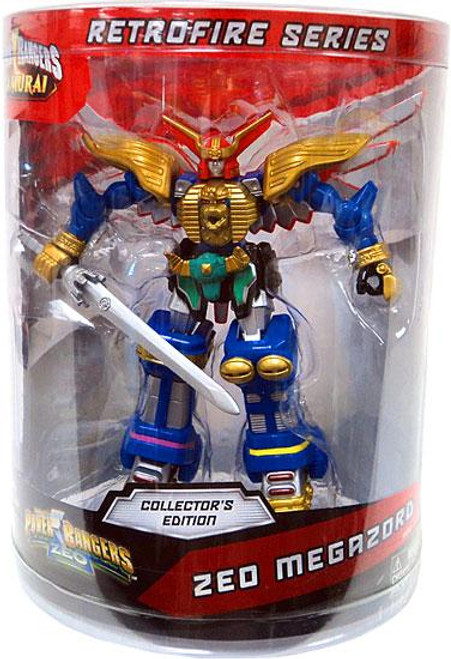 Power Rangers Samurai Retrofire Series Zeo Megazord Action Figure