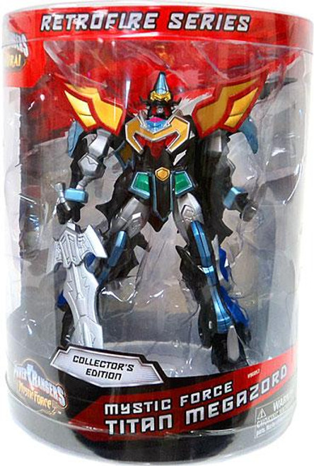 Power Rangers Retrofire Series Mystic Force Titan Megazord Action Figure