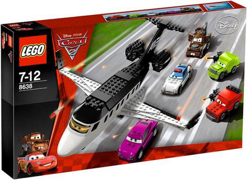 LEGO Disney Cars Cars 2 Spy Jet Escape Set #8638