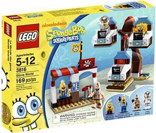 LEGO Spongebob Squarepants Glove World Set #3816