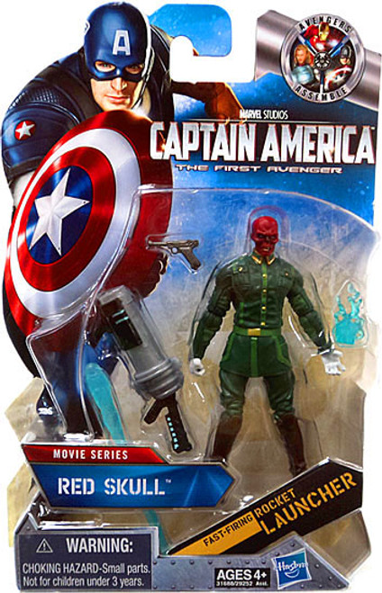 Captain America The First Avenger Movie Series Red Skull Action Figure #8 [White Gloves Variant]