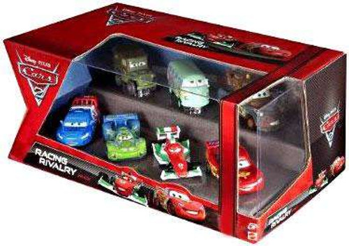 Disney Cars Cars 2 Multi-Packs Racing Rivalry 7-Pack Exclusive Diecast Car Set