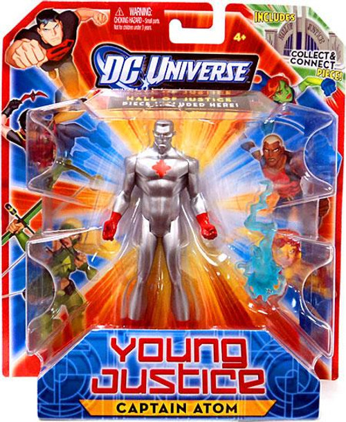 DC Universe Young Justice Captain Atom Action Figure