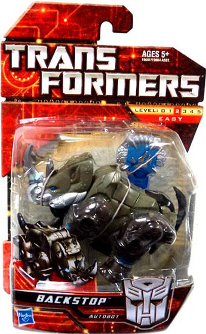 Transformers Scout Class Backstop Scout Action Figure