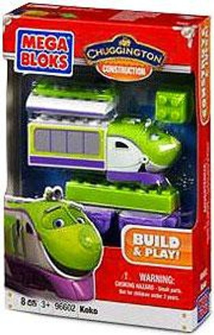 Mega Bloks Chuggington Constructor Koko Set #96602