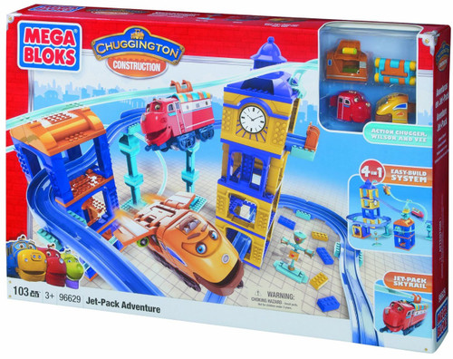 Mega Bloks Chuggington Constructor Jet Pack Adventure Set #96629
