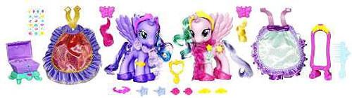 My Little Pony Canterlot Fashion Style Princess Luna Princess Celestia Exclusive 6 Figure 2 Pack