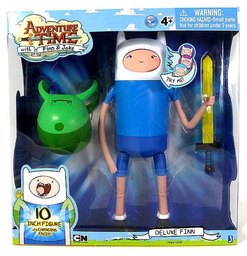 Adventure Time Changing Faces Finn Action Figure [Deluxe]