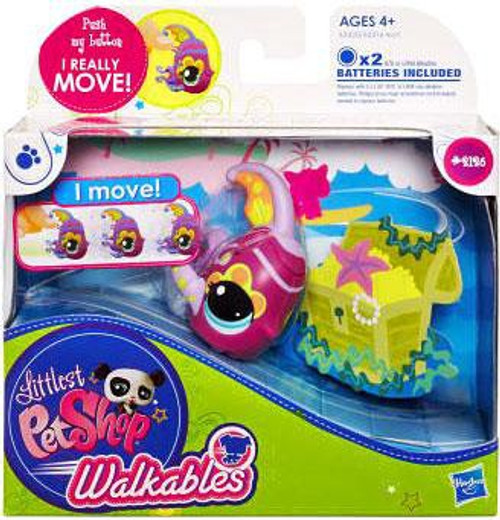 Littlest Pet Shop Walkables Fish Figure #2126 [Purple Fins]